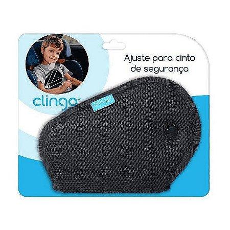 TRAVA AJUSTE P/ CINTO SEGURANCA CLINGO PRETO