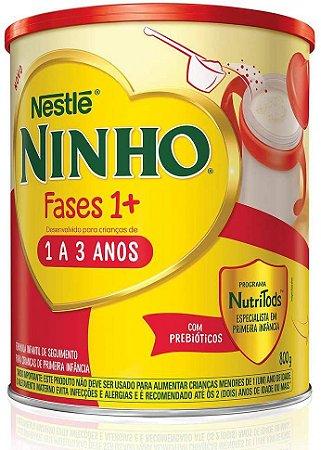 LEITE NINHO 1+ COMPOSTO 800GR