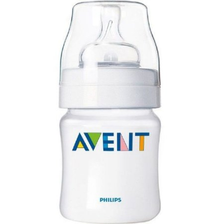MAMADEIRA ANTI-COLIC AVENT TRANSPARENTE 125ml