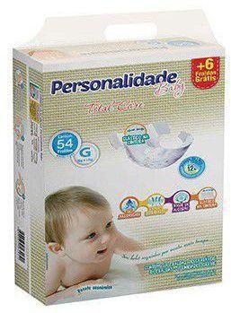 FRALDA PERSONALIDADE BABY TOTAL CARE G C/54 UNIDADES