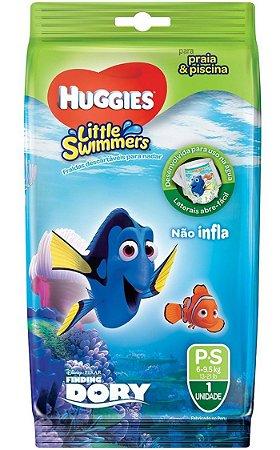 FRALDA HUGGIES LITTLE SWIMMERS P C/ 1 UNIDADE