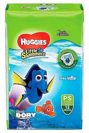 FRALDA HUGGIES LITTLE SWIMMERS - P C/ 12 UNIDADES