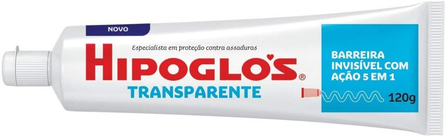 CREME PREVENTIVO CONTRA ASSADURAS TRANSPARENTE HIPOGLÓS 120G