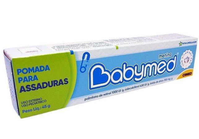 CREME PREVENTIVO CONTRA ASSADURAS BABYMED - MENINO 45G