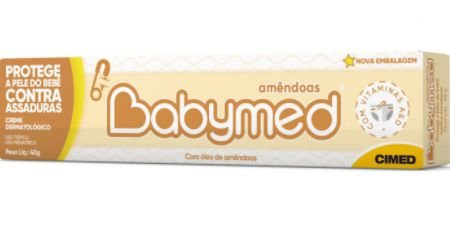 CREME PREVENTIVO CONTRA ASSADURAS BABYMED AMENDOAS 40G