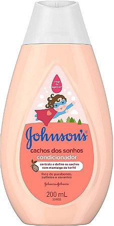 CONDICIONADOR JOHNSON'S BABY CACHOS DOS SONHOS 200ML