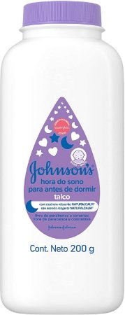TALCO JOHNSON'S BABY HORA DO SONO 200GR