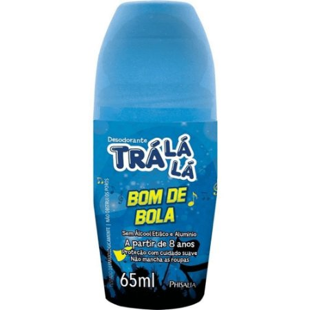DESODORANTE ROLL-ON TRÁ LÁ LÁ BOM DE BOLA 65ML