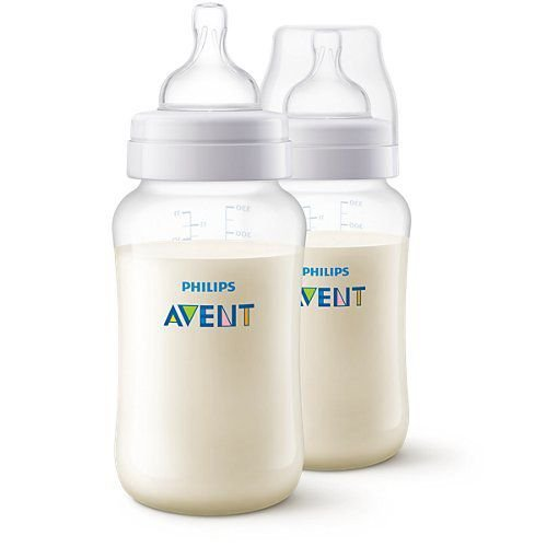 KIT MAMADEIRA ANTI-COLIC AVENT TRANSPARENTE 330ML