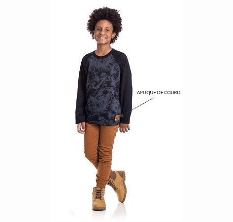 Kit 3 Camisetas Meia Malha Rotativa 10/14