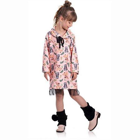 Kit 3 Vestidos Soft Sublimado Com Capuz 4/8