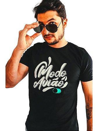 Camiseta Modo Avião Brand Style