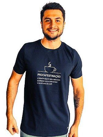 Camiseta Café ou Procafestinação
