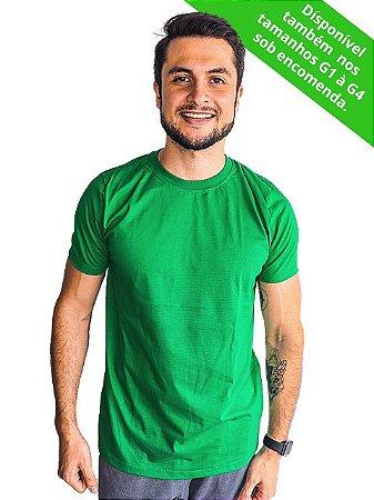 Camiseta Modo Avião Verde Básica