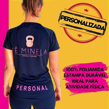 Camiseta Feminina Dryfit em Poliamida ou Poliéster