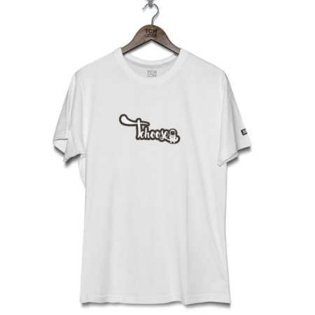 Camiseta Tag Tchoose Branca