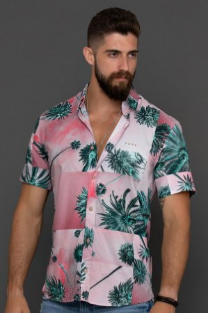 CAMISA MC DIGITAL RELAX SUNSET