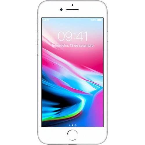 "iPhone 8 Tela 4.7"" IOS 11 4G Wi-Fi Câmera 12MP - Apple"