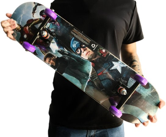Skate Wood Light Marvel 8.0