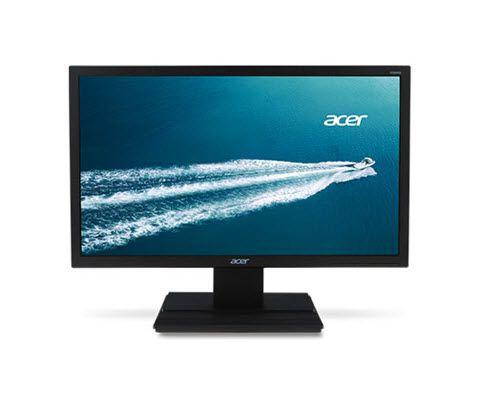 Monitor LED LCD Wide 19,5'' ACER V206HQL Preto