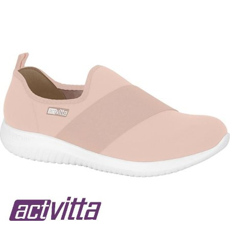 Tênis Actvitta Lycra Protection Elástico Rosa 4806412