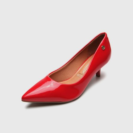 Sapato Scarpin Vizzano Verniz Vermelho 1185702