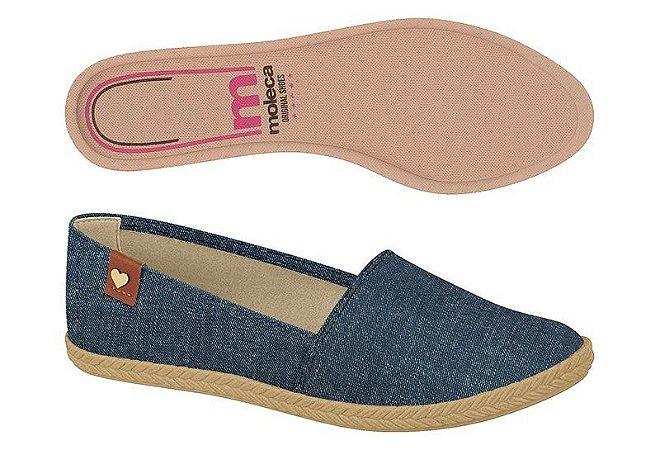 Alpargata Moleca Tecido Jeans 5287210