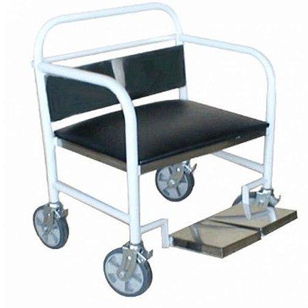 Carro Cadeira P/ Obesos 250 KG