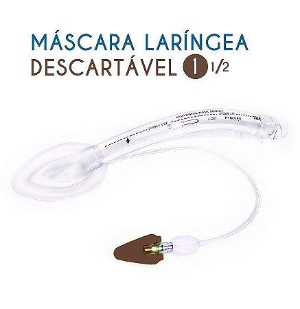 Máscara laríngea Descartável N1 1/2