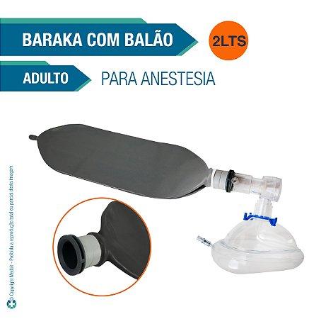 Conjunto Adulto de Anestesia Baraka Latex 2 Litros