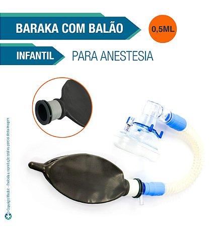 Conjunto Infantil para Anestesia Balão 1/2 L (Baraka)