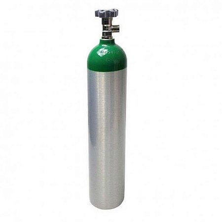 Cilindro de Oxigênio Medicinal em Alumínio 5 Litros (Sem carga)