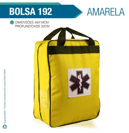 Bolsa 192 Vazia Amarela - Almofadada