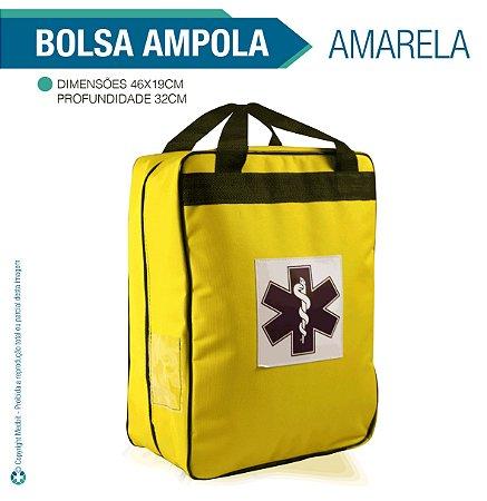 Bolsa para Ampola Amarela - vazia