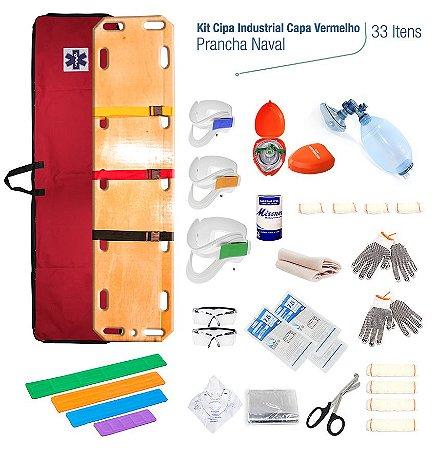 Kit Cipa Industrial C/ Prancha em Compensado - Capa Vermelha