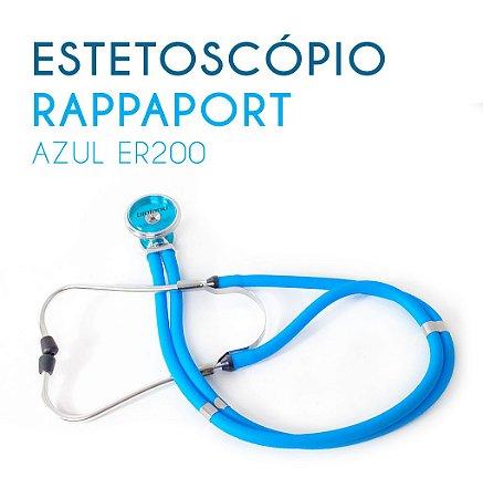Estetoscópio Rappaport Azul ER200
