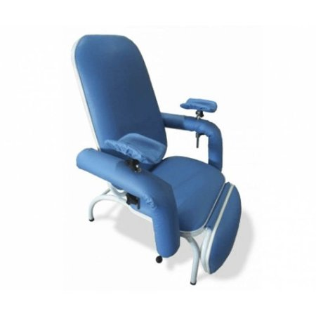 Poltrona Coleta Sangue/Hemodiálise  Azul Céu Standard MS