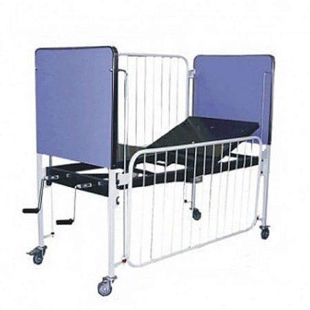 Cama Hospitalar Fowler Infantil Standard Luxo SL
