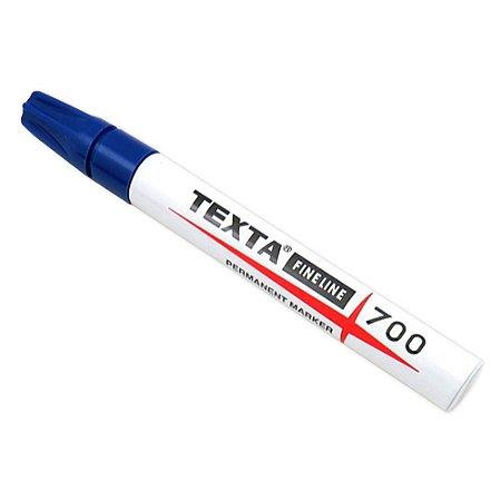 Caneta Para Marcação De Pele Texta 700 Azul