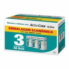 Kit Tiras de Glicemia Accu-Chek Active Economy 150 Unidades