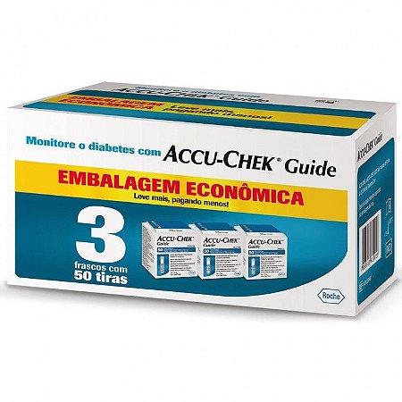 Kit Tiras de Glicemia Accu-Chek Guide Economy 150 Unidades