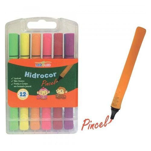 Kit Pincel Brush Pen Leo & Leo | 12 Cores | Leonora