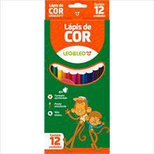 Lápis de cor sextavado 12 cores | Leo & Leo