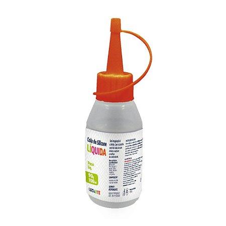Cola de Silicone Líquida 90g 100ml | Leonora