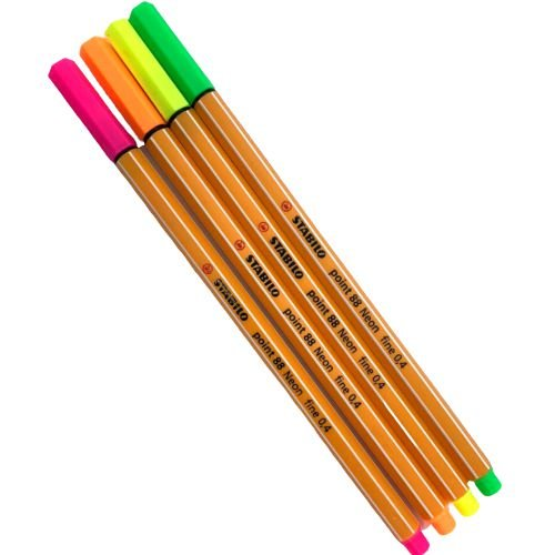 Kit Fine Point 88 4 cores | Stabilo