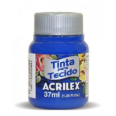 Tinta para Tecido 37ml - Azul Ultramar 543 | Acrilex
