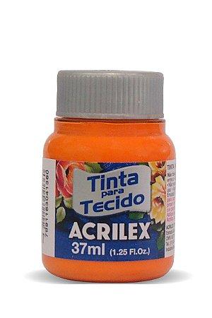Tinta para Tecido 37ml - Tijolo 643   Acrilex