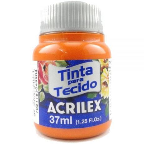 Tinta para Tecido 37ml - Cenoura 576 | Acrilex