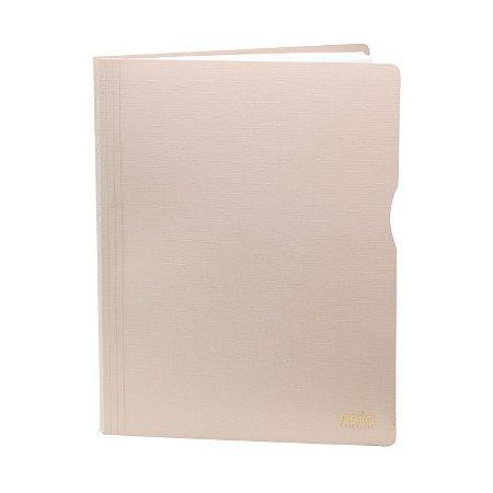 Pasta Catálogo A4 Executive com 50 Plásticos rosa | Dello