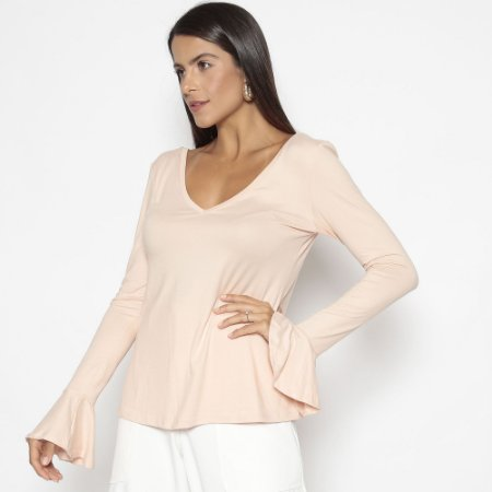 BLUSA SKIN LIGHT ROSE